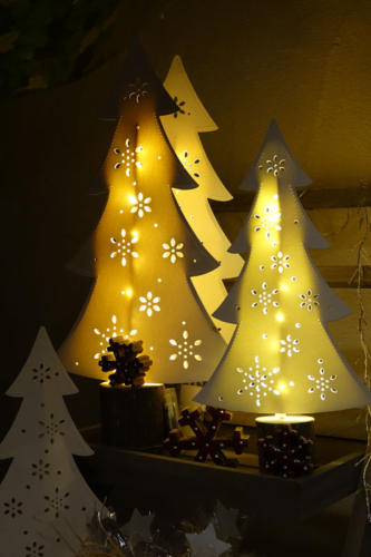 Garcia beleuchteter Baum